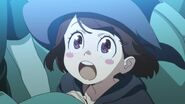 Akko being enamored by Shiny Chariot Show Short film