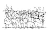 Witches group shot