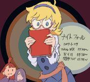 Little Witch Academia episode 4 illustration by Takafumi Hori (堀剛史) @porigoshi LWA