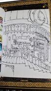 Ursula Room Concept Art 1 LWA Blu-Ray Vol. 4 Booklet