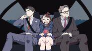 Akko sitting in between the two Hanbridges by Arai Hiroki @arai 1