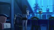 Akko reads Blue Moon Card LWA 11