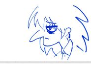 Balsa McVinegar doodle by Masahiko Ōtsuka