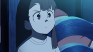 Akko made up her mind to visit Blue Moon Abyss LWA 11