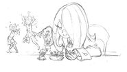Sucy using Voodoo dolls on Akko and Lotte posted in update
