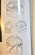 Ursula Room Concept Art 3 LWA Blu-Ray Vol. 4 Booklet