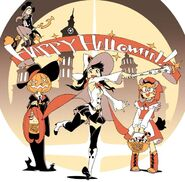 Happy Halloween illustration made by Yoh Yoshinari for the 2013 kickstarter for Little Witch Academia 2 LWA