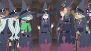 Ursula realizes she unintentionally interrupted teachers' meeting due to her sleepiness LWA 02