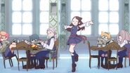 Akko excited dance What You Will LWA