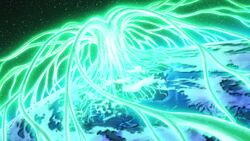 The roots from Yggdrasil spreading out over the world.