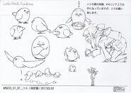 Akko and Messenger Pigeon Concept LWA