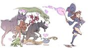 Little Witch Academia 2 Second Concept Artwork by You Yoshinari (吉成曜) LWA