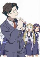 Andrew reacting to the witches by Arai Hiroki LWA