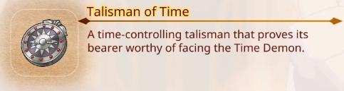 Talisman of Time