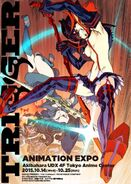 The poster for TRIGGER ANIMATION EXPO on 2015 LWA