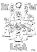 Little Witch Academia episode 25 artwork by Hiroyuki Imaishi @shiimai LWA