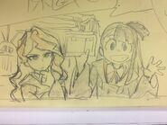Diana and Akko sketch Kai Ikarashi @kaiikarashi May 20 2017