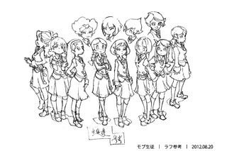 Background Characters Concept Design LWA