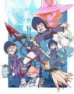 Little Witch Academia TV póster oficial