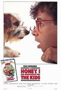 Honey, I Shrunk The Kids 1989 Poster