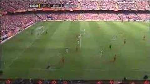 Steven Gerrard VS west ham fa cup final 90th min 2006