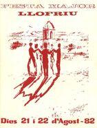 Festa Major de Llofriu 1982