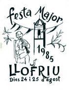 Festa Major de Llofriu 1985