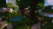 Englischer Garten der Adminvilla