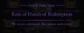 Violet Noon Rain of Hands of Redemption Ending