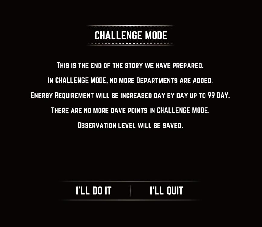 Challenge Mode (Legacy)