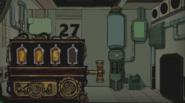3 numbers on Backward Clock