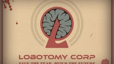 """Lobotomy Corp Official Teaser Trailer """"Welcome to Our Corp"""""""