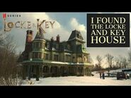I Found The Locke and Key House - Locke and Key Netflix Show Set Location Hidden in the Woods