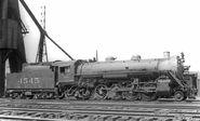 Southern railway 4545