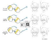 Shiroe glasses S2
