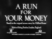A Run for Your Money - 1950 - MPAA