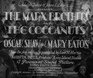 The Cocanuts - 1929 - MPAA