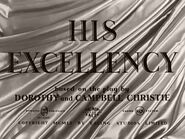 His Excellency - 1956 - MPAA