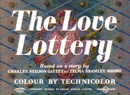 The Love Lottery - 1956 - RCA