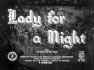 Lady for a Night - 1942 - MPAA