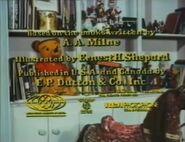 Winnie the Pooh and Tigger Too - 1974 - MPAA