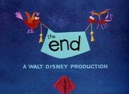 The End A Walt Disney Production (Melody Variant)