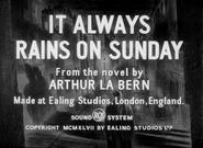 It Always Rains on Sunday - 1949 - RCA