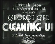 Cleaning Up - 1933 - RCA
