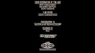 Fantasia 1990 MPAA Credits