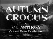 Autumn Crocus - 1934 - RCA