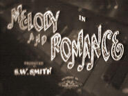 Melody and Romance - 1937 - RCA