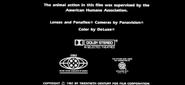 Project X 1987 MPAA Card