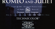 Romeo and Juliet - 1968 - MPAA