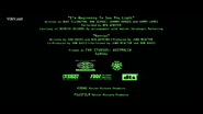 The Matrix Revolutions MPAA Card